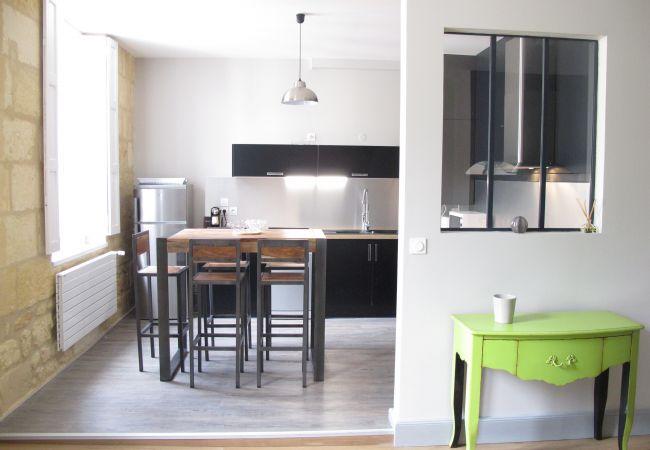 Appartement à Bordeaux - Appartement QUINCONCES Duplex - T3 - 4/6 personnes