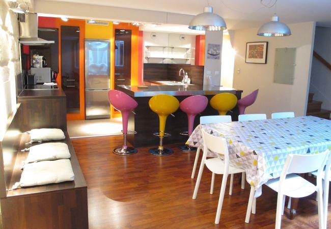Appartement à Bordeaux - Appt PALAIS GALLIEN Duplex T5 - 6/8 pers - 156m²